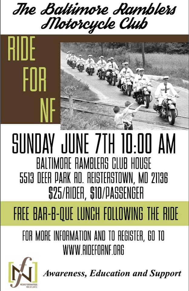 Ride for NF June 7th