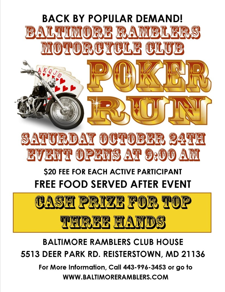 BRMC Poker Run Color
